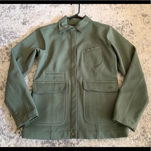 Patagonia Green Military Style Jacket Womens Sz S